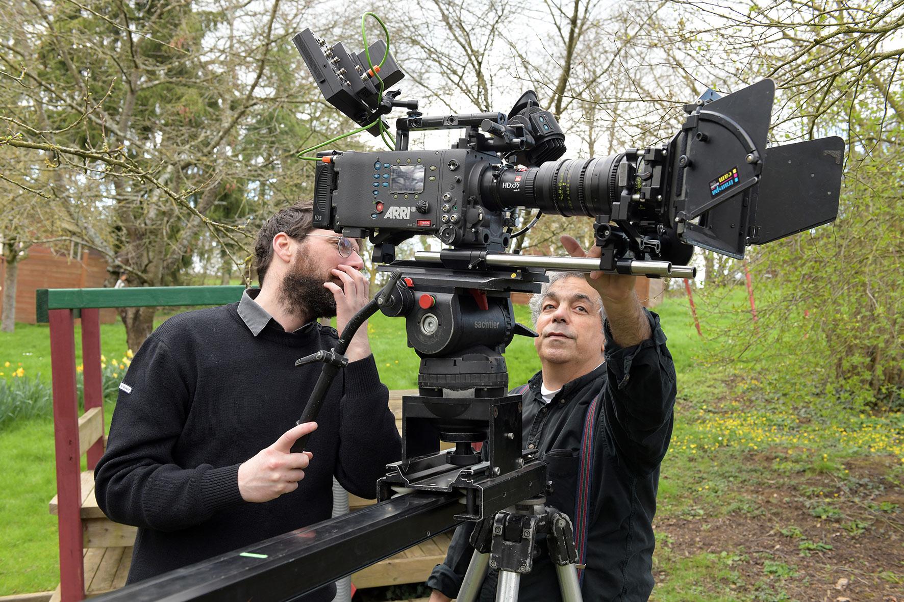 Formation Réalisation, Bertrand Basset et Pierre Souchar, chef opérateur image @ Emmanuel Madec