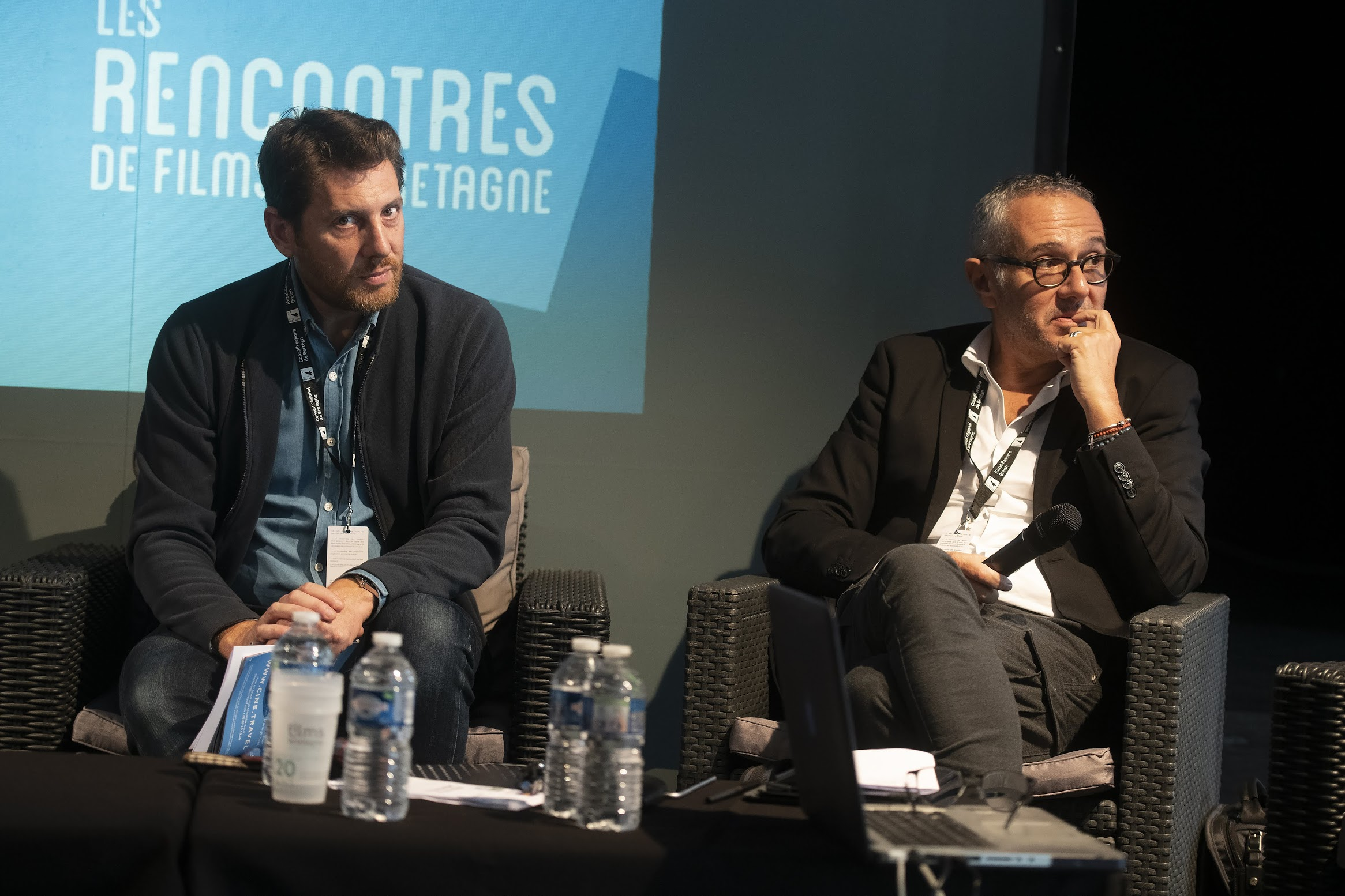 Renaud Allilaire et Olivier Montels ©YLM Picture