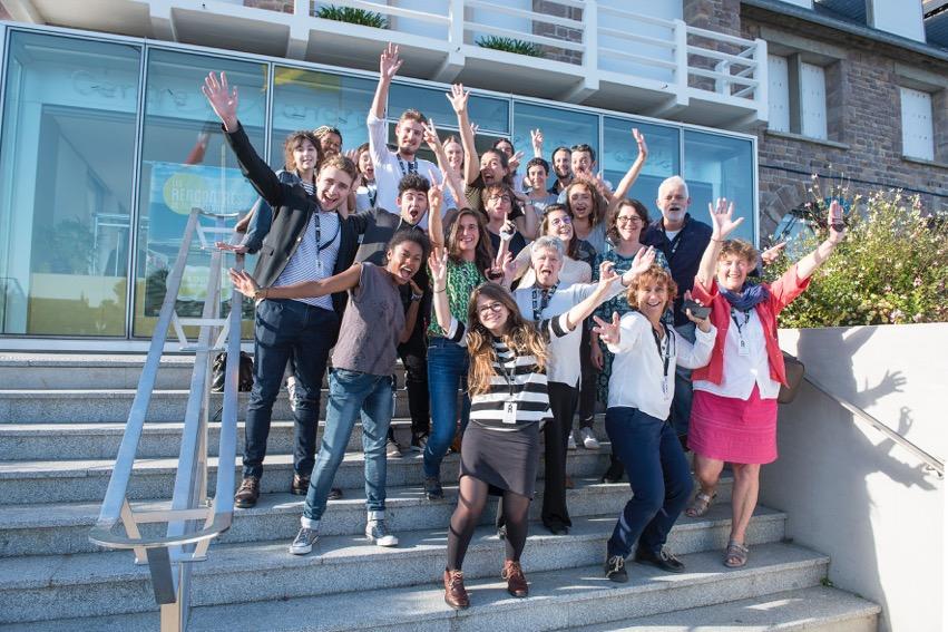 Lubna en équipe FEB Rencontres 2018