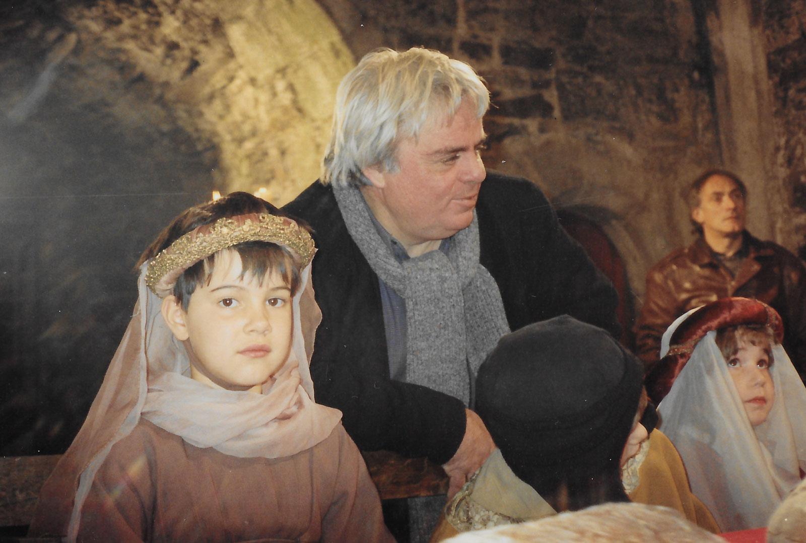 Hervé Baslé sur le tournage de Les Prouesses © Catherine Delalande
