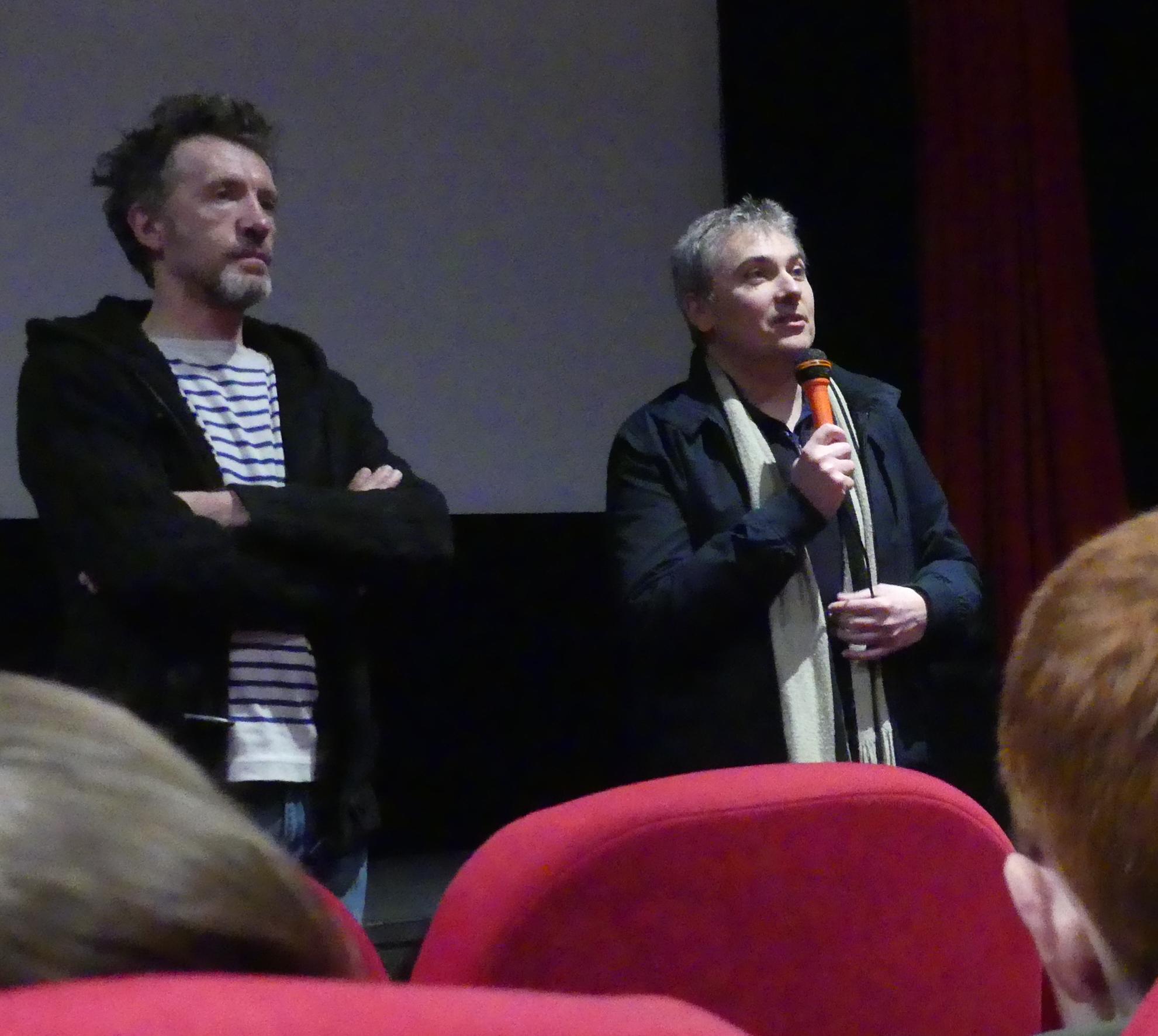 Eric Simonin et Nicolas Guillou