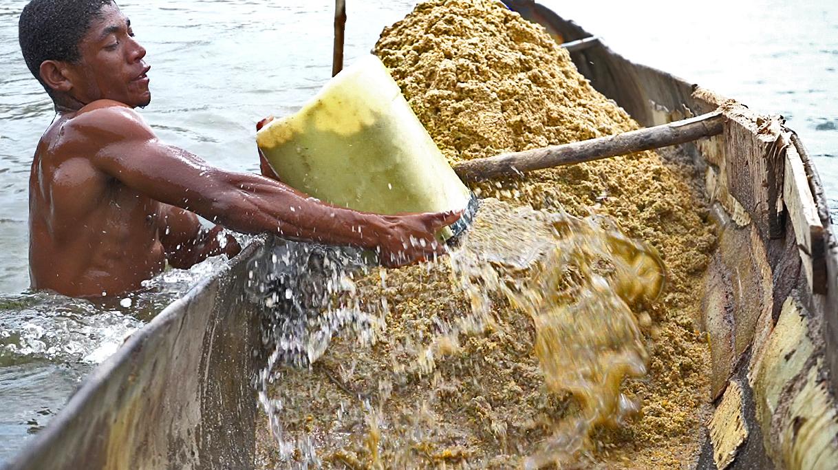 Patrick pêcheur de sable