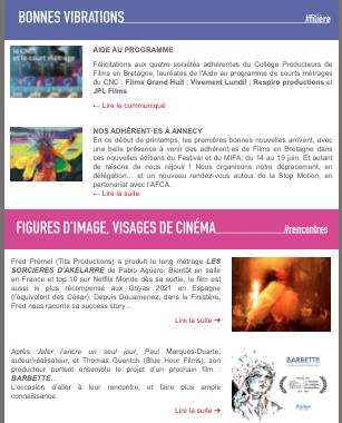 Les actus de Films en Bretagne mai-juin 2021